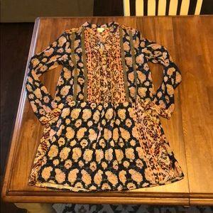 Anthropologie TINY Dress Size M Long Sleeve